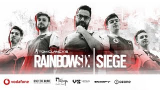 We Are The Siege | Vodafone Giants Rainbow Six Team Presentation