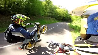 Spring Ride - Wheeling - Beta Factory - 103SP - 125GN - KTM DUKE ..