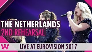 "Second rehearsal: OG3NE ""Lights And Shadows"" (Netherlands) Eurovision 2017 