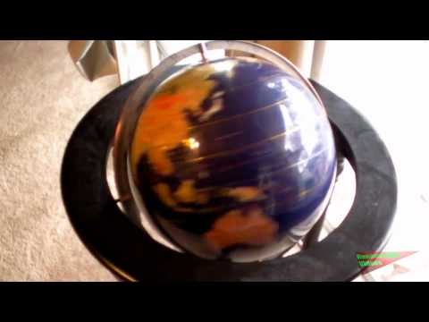 Random Pointless Video: Spinning Globe