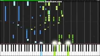 Shingeki no Kyojin OP - Guren no Yumiya - Synthesia (Piano)(TehIshter)