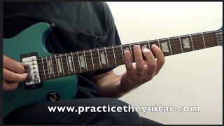 Guitar Backing Track A Minor C Major Rock