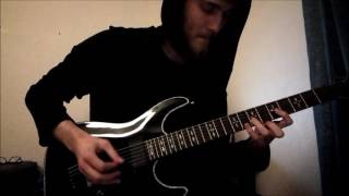 DISREIGN - Within the void preview guitar cover