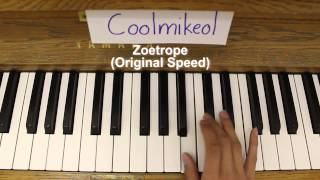 Basic Piano Melody: Amnesia OP 1 - Zoetrope