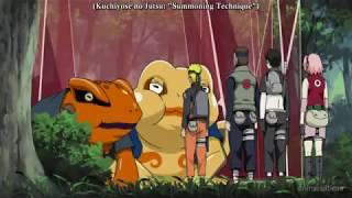 Naruto Shippuden Techniques, Naruto - Kuchiyose no Jutsu