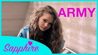 Ellie Goulding - Army - Cover by 12 year old Sapphire