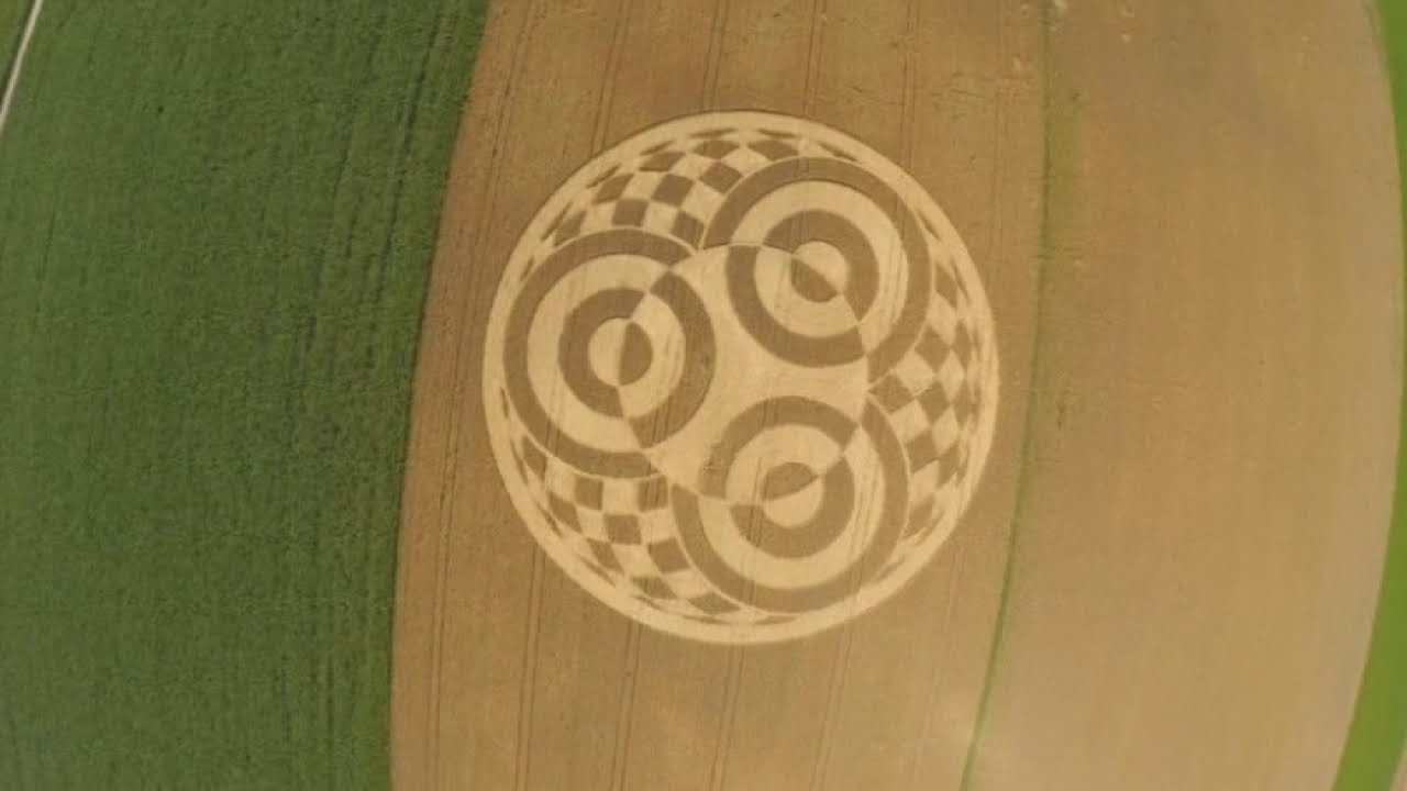 Weird: Huge Crop Circle appears in field in Germany