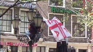 DE GRAAFSCHAP-AJAX 1-1 het leidseplein  Amsterdam  zondag