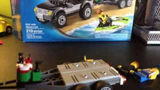 Lego city 60058 SUV with watercraft
