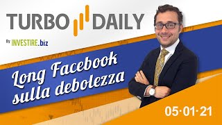 Turbo Daily 05.01.2021 - Long Facebook sulla debolezza