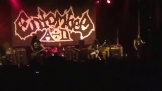 Entombed AD live in NYC 4/22/16