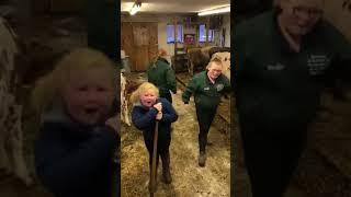 "DeKalb farm sisters dance to ""Don't Stop Believin'"""