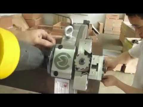 SMG Electric Split Frame Cutting and Beveling Machine