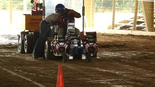 ASABE Quarterscale Tractor Competition 2010 U of I Pitcher