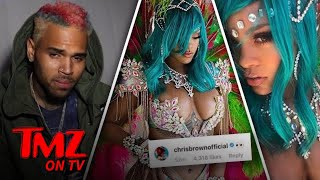 Rihanna – Gets Photo Comment from Chris Brown! | TMZ TV