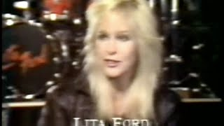 Girls In Metal Interview Feat. Lita Ford, Wendy O Williams, Girlschool.