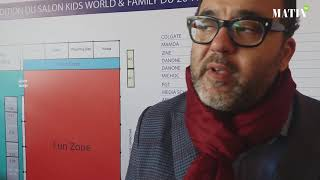 Visite guidée du salon Kids World