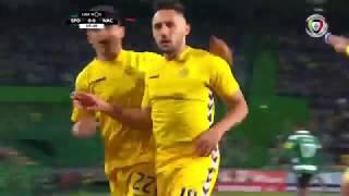 Goal | Golo Camacho: Sporting 0-(1) Nacional (Liga 18/19 #13)