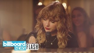 Taylor Swift Teases New Song Premiering on ABC | Billboard News Flash