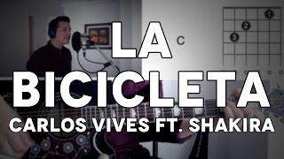 La Bicicleta Carlos Vives ft. Shakira Tutorial Cover - Guitarra [Mauro Martinez]