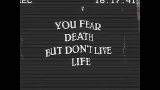 You fear death but don't live life📌