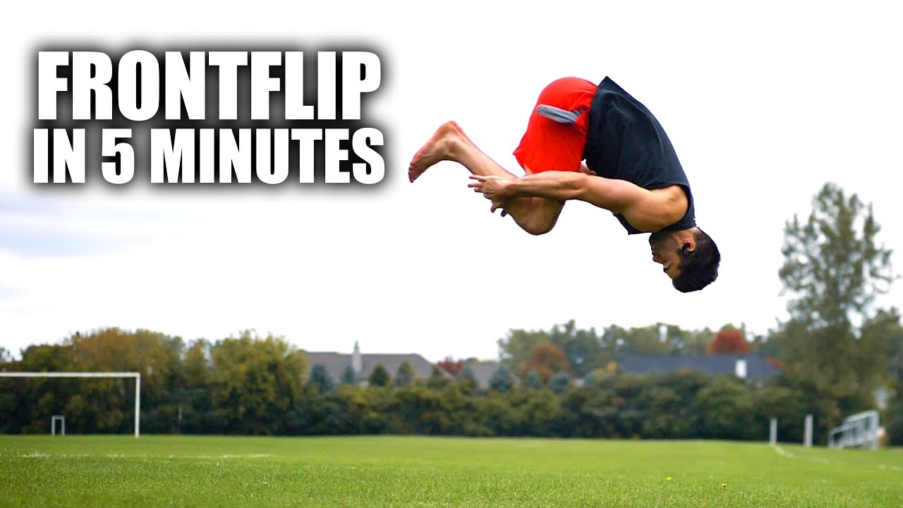 Learn How to Front Flip in only 5 Minutes