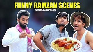 Funny Ramzan Scenes | Hyderabadi Comedy | Warangal Diaires width=