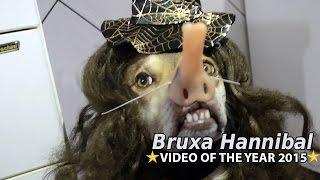 Ninão veste sua fantasia para o Halloween (A Bruxa Hannibal)