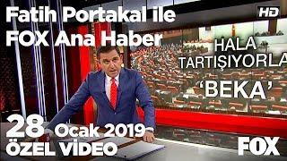Siyasette beka tartışması alevlendi! 28 Ocak 2019 Fatih Portakal ile FOX Ana Haber