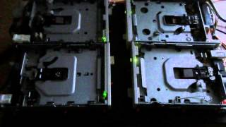 Star Wars Duell of the Fates on 4 Floppy Drives