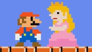 Peach verarscht Mario (Super Mario Bros. Parodie / deutsch)
