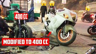 Modified Hayabusa Going Rajasthan By Courier ! Full