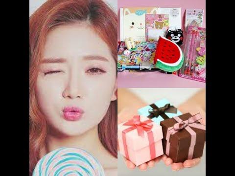 جربت حلويات و منتجات يابانية و كورية  / مسابقة عالمية +givewaaaaay