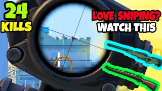 EVERY Sniper Lover Will Watch This Epic Gameplay• (24 KILLS) • PUBG MOBILE(HINDI)