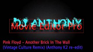 Pink Floyd - Another Brick In The Wall - (Anthony K2 re-edit) Vintage Culture Remix
