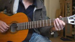 Fink - All cried out (cover) (guitar)