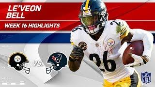 Le'Veon Has Pittsburgh Singing Jingle Bells vs. Houston 🔔 | Steelers vs. Texans | Wk 16 Player HLs