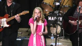 12 year old Paige Rombough Singing Daddy's Hands by Holly Dunn