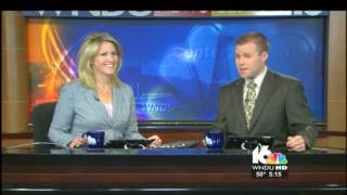 A Chilly Start...or A Chilly Fart!  Live TV Blooper