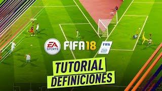 FIFA 18 | Como definir de forma efectiva en FIFA18! Tiros rasantes, tiros a colocar.