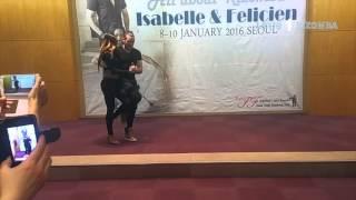 [2016. 01.08]Isabelle & Felicien Kizomba Demo in Seoul