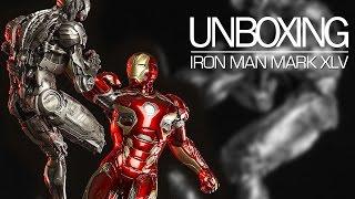 Unboxing - Iron Man Mark XLV 1/6 Diorama Iron Studios