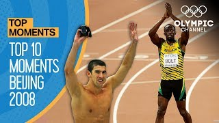 Top 10 Olympic Moments Beijing 2008   Top Moments