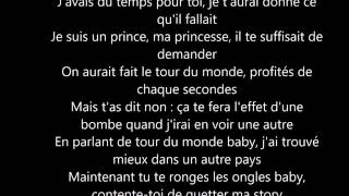 Franglish feat. Dadju & Vegeta - C'est plus l'heure (Paroles/lyrics)