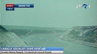Au trecut 30 de ani de când Canalul Dunăre - Marea Neagră a intrat în exploatare