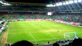 13/14 - Sporting Clube de Portugal 8 - 1 Alba - Momento da Ola Mexicana!