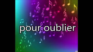 musique fun - Kendji Girac - Pour oublier