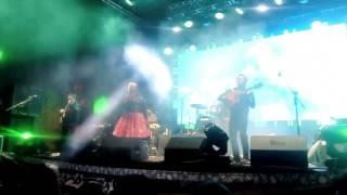 La Santa Cecilia en vivo en Zacatecas, Festival cultural 2017