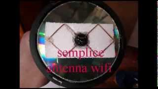 Costruire antenna WIFI con cd