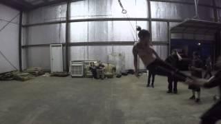 Tori Fisher body suspension